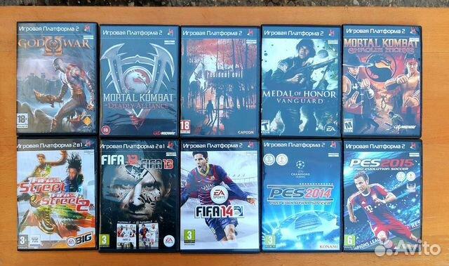 Игры на PS2(новые)  купить 1