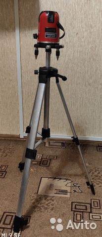 Лазерный уровень (нивелир) 5 линий - 6 точек, 360 89285370680 купить 5