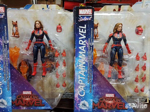 Фигурка Marvel Select Captain Marvel (Disney Store купить 1