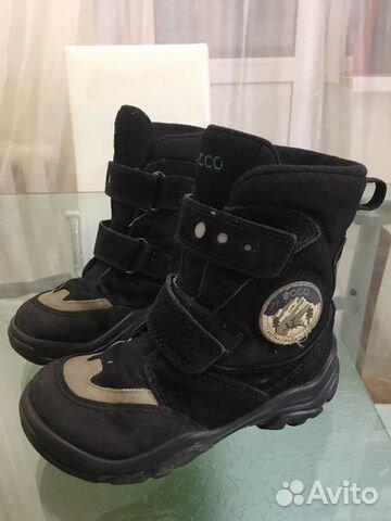 Ботинки ecco 28  89042539392 купить 1