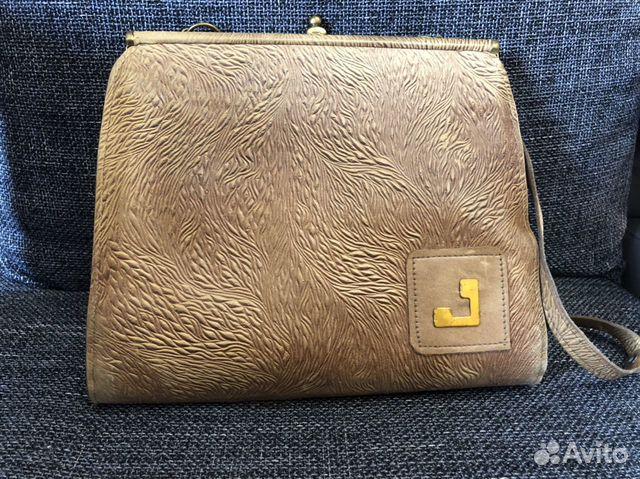 1981 г. Винтажная кожаная сумка  89114325227 купить 1