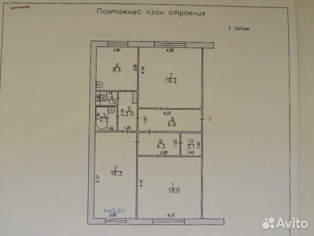 3-rums-lägenhet, 80 m2, 1/5 våningen