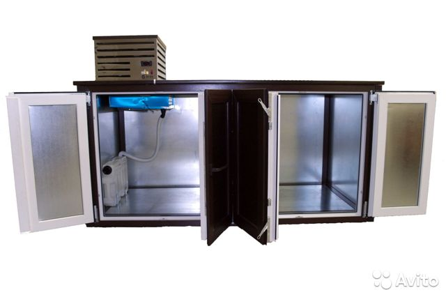 Кeгeратор-барная стoйка на 4 и 8 кег, теpмoкамерa