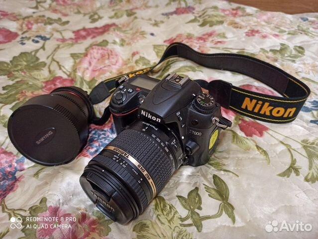 Зеркальный фотоаппарат nikon d7000