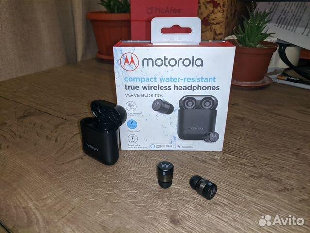Беспроводные наушники Motorola VerveBuds 110 TWS 89204526402 купить 3