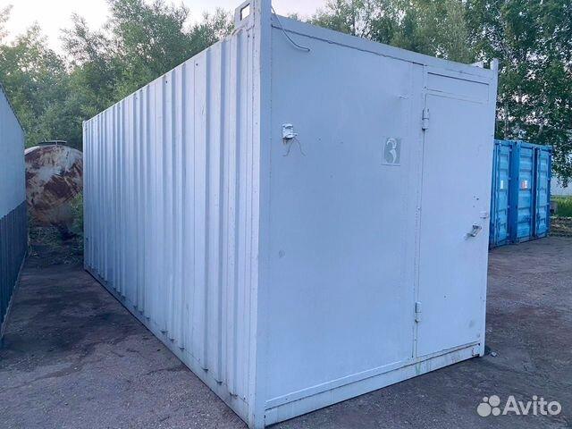 Вагончик на базе контейнера 20 Футов купить 1