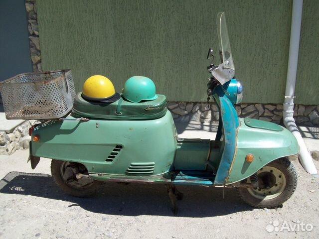 Мотороллер Турист Т-200 1973 года выпуска