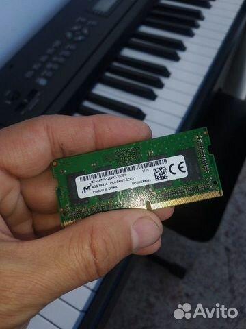 Оперативная память ddr4 4 Gb для ноутбука