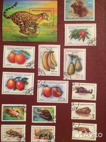 Коллекция марок  купить 1