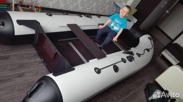 Комплект Лодка Ривьера 3200 ск + Мотор HDX T 5 BMS  купить 2