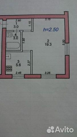 1-к квартира, 30.9 м², 5/5 эт.