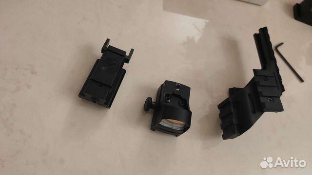 Лазер и коллиматор для пистолета и автомата