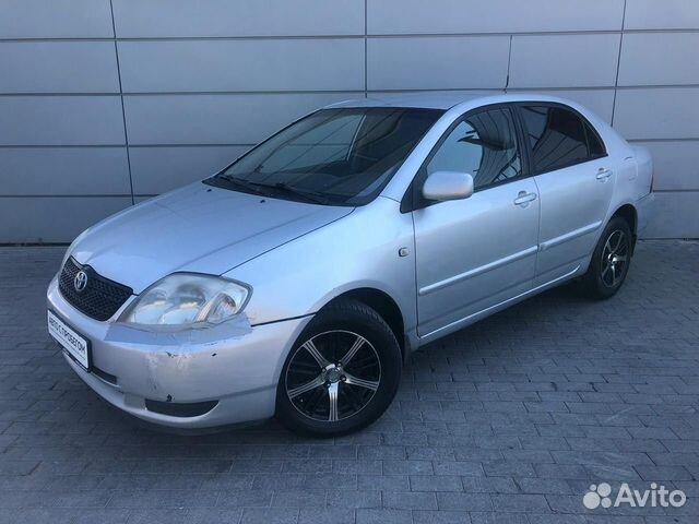 Toyota Corolla, 2003  83432716389 купить 1