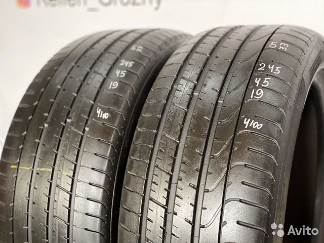 89380001718  245/45/19 Pirelli P Zero RCS (5 mm) - 2 шт