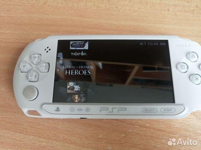 Sony PSP 10 игр на ней  89090439393 купить 7