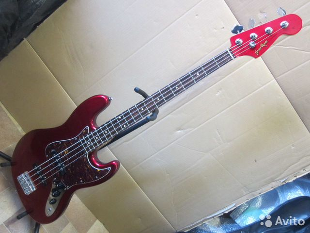 89025069832  Бас-гитара Grass Roots G-JB-47R (2011 Korea)