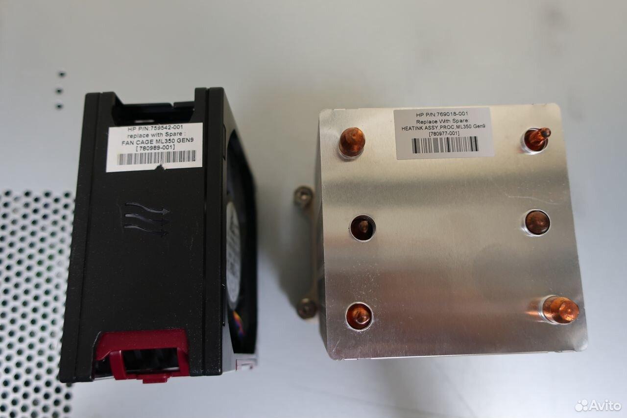 Комплект для второго CPU HP ML350 G9