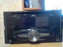 2-х диновая JVC магнитолла