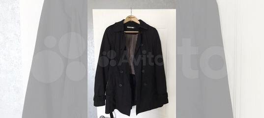 8ffd36c958e Пальто плащ демисезон чёрный Stradivarius купить в Нижегородской области на  Avito — Объявления на сайте Авито