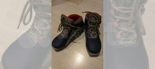 a22b43754669 Лыжные ботинки (для беговых лыж) Tecno Pro купить в Санкт-Петербурге на  Avito — Объявления на сайте Авито