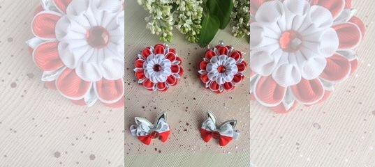 Бантики для девочек на резинках с цветами купить в Нижегородской области с доставкой | Личные вещи | Авито