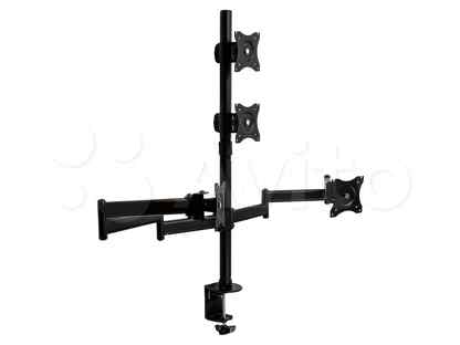 Кронштейн для мониторов настольный ARM media LCD-T16 Диагональ экрана (см):38-81 Нагрузка (кг):4 x 10