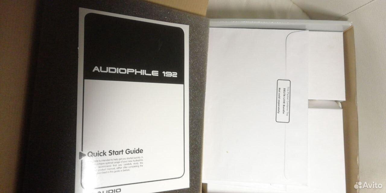 Звуковая карта M-Audio Audiophile 192  89529978485 купить 3