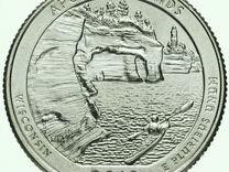 Юбилейные Монеты Америки 42й квотер