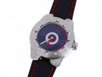Стальные часы с бриллиантами Carrera y Carrera