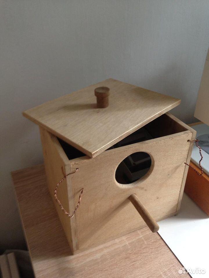 Гнездо для птиц навесное на клетку  89159578501 купить 5