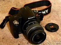 Продам Sony dslr-A290+объектив+ зарядка