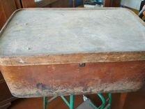 Старинный деревянный короб