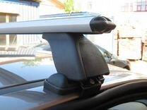 Багажник на Nissan Qashqai (Люкс) +монтаж