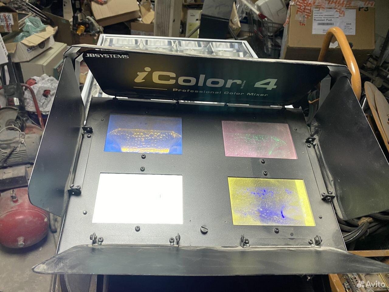 Прибор заливного света Acme IColor4 JBSystems  89184464505 купить 3