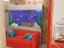 Акриловые аквариумы на заказ