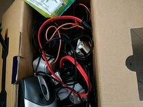 Отдам за киндер Провода зарядки компьютерная мышь