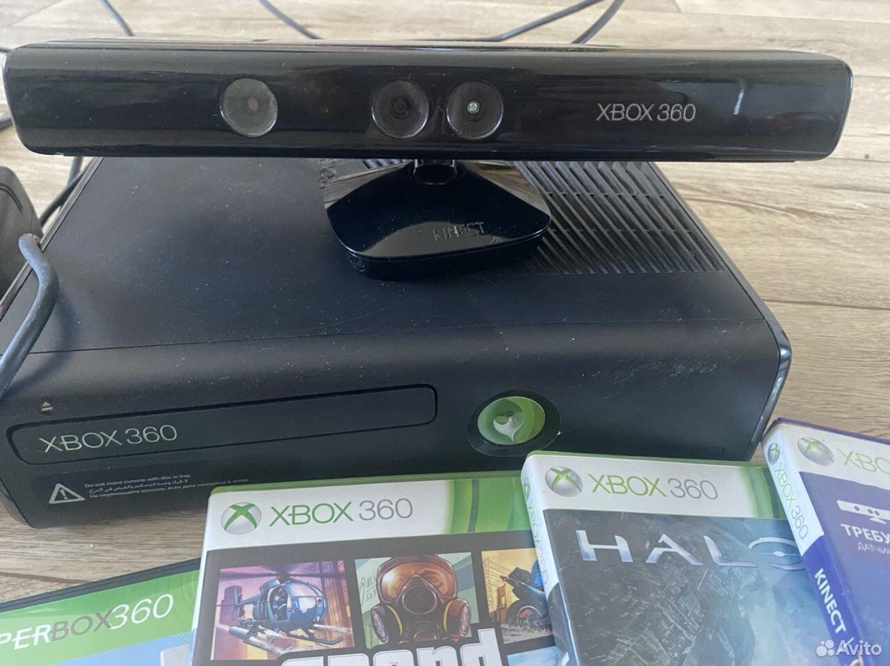 Xbox 360 + Kinect  89145801110 купить 2