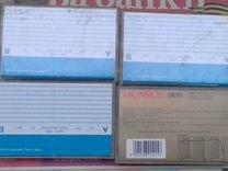 Видеокассета аудио новая в упаковке запечатанная
