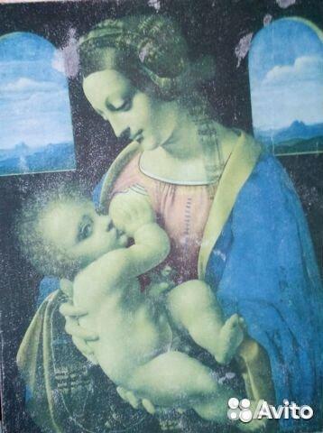 Картина Мадонна Литта  89129590758 купить 1