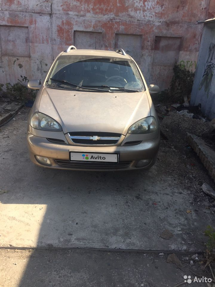 Chevrolet Rezzo, 2006  89184502898 купить 3