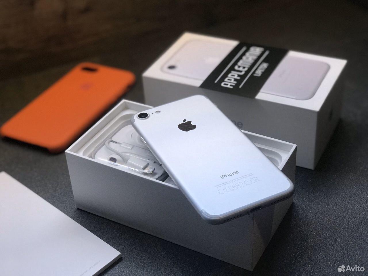 iPhone 7 32gb silver гарантия  89046868534 купить 1