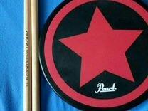 Тренировочный пэд для начинающих барабанщиков