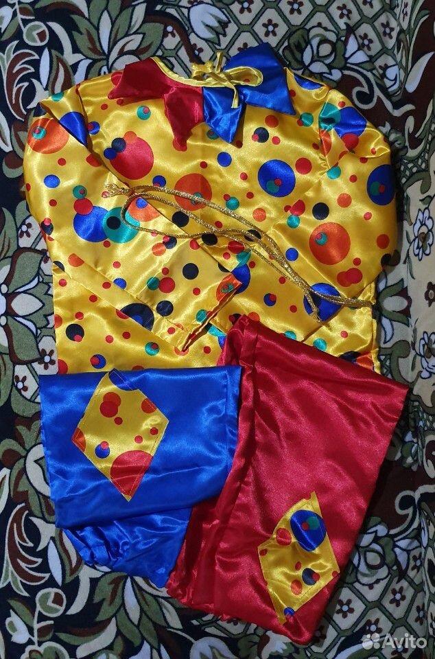 Карнавальный костюм Петрушки  89537237020 купить 2