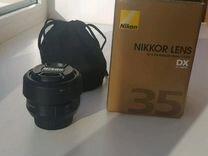 Nikon af-s dx 35 1/1,8
