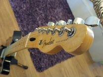 Эл.гитара Fender Telecaster + ремень + подставка
