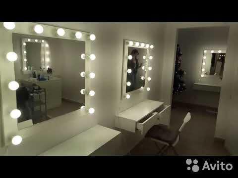 Зеркало с консольными ящиками 89524478822 купить 1